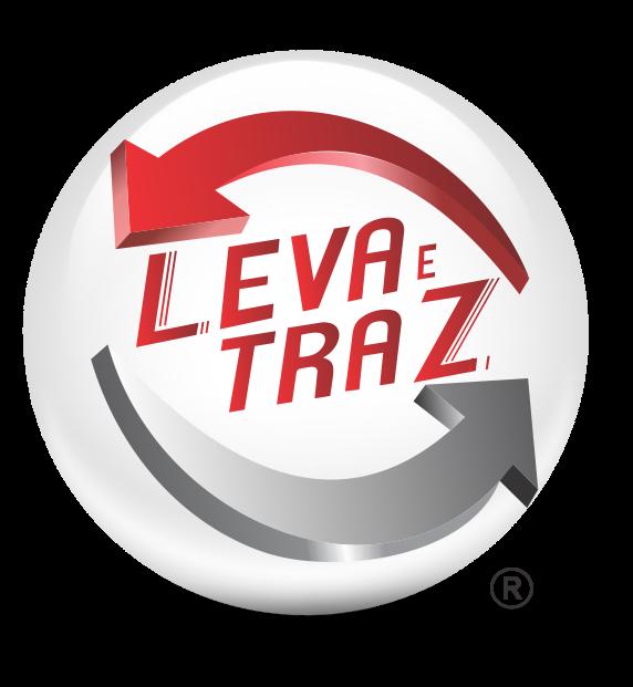logomarca de Leva e Traz