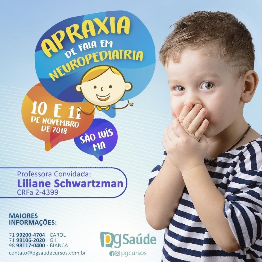 APRAXIA DE FALA EM NEUROPEDIATRIA