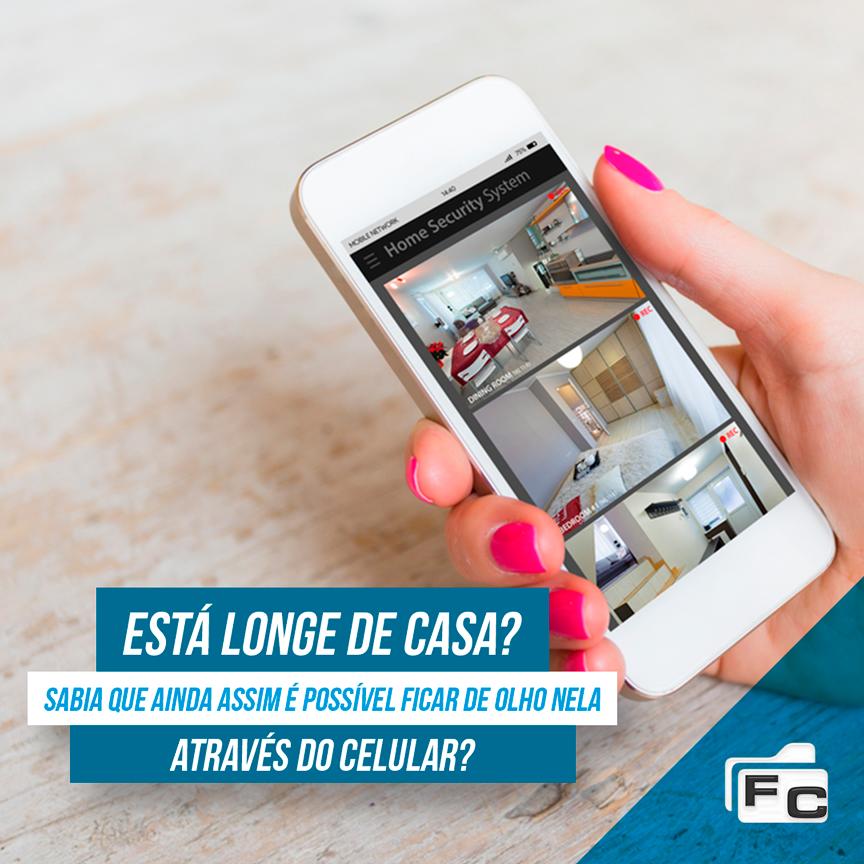 A FC Serviços fornece todo o suporte necessário para o monitoramento remoto do seu lar!