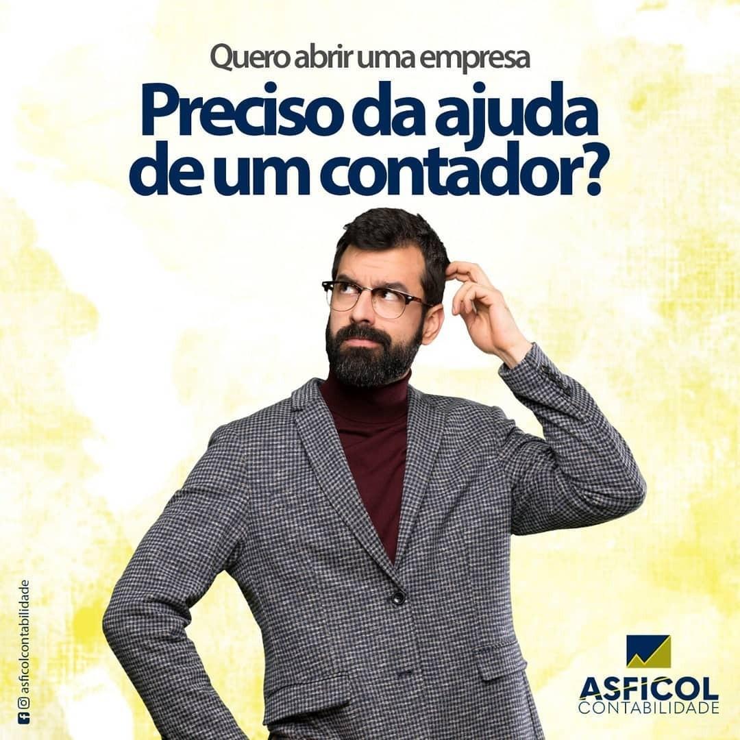 É  de um contador que você precisa? Conheça a Asficol.