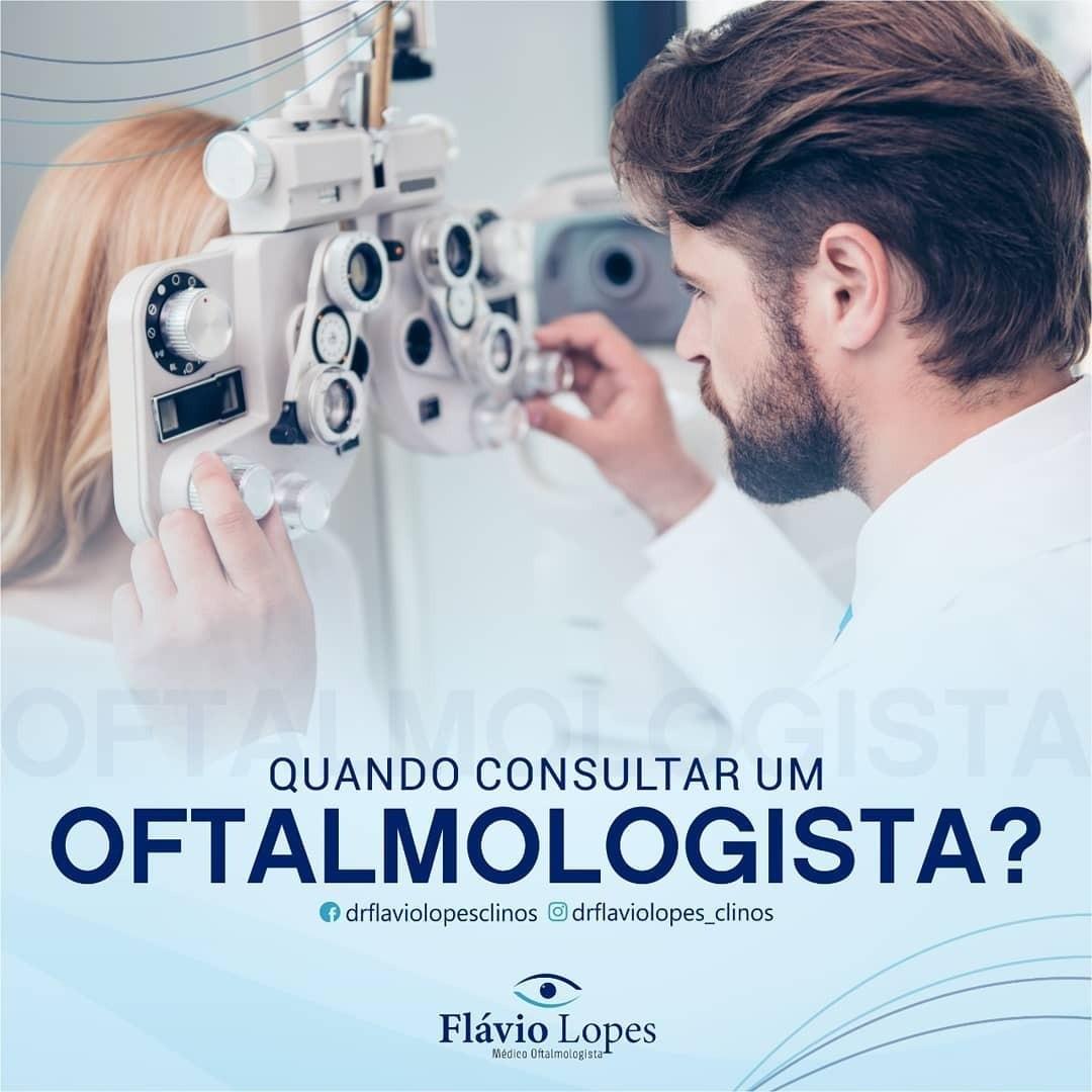 Fique de olho! Consulte um especialista, Dr. Flávio Lopes .