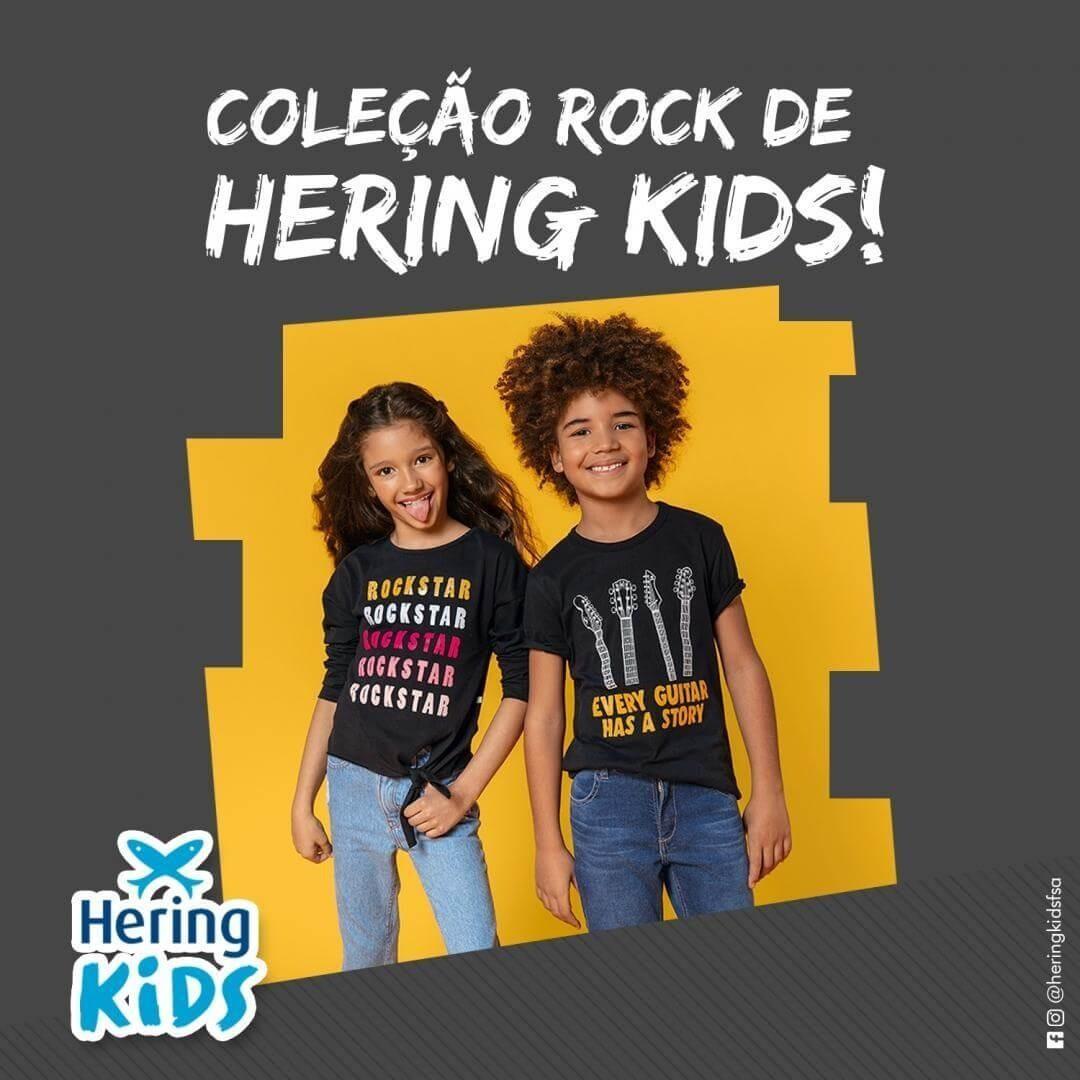 Coleção de Rock Hering Kids