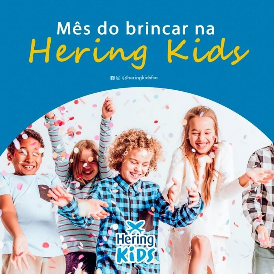 Mês do Brincar na Hering Kids!!