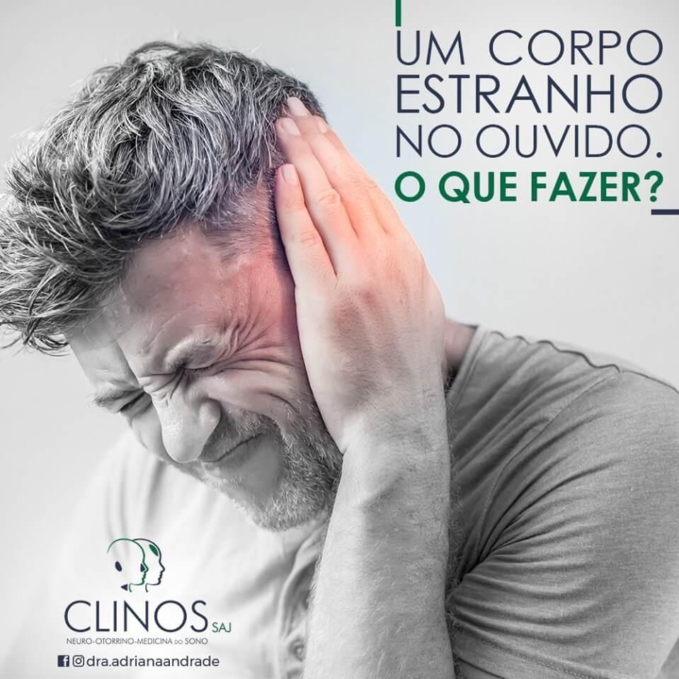 Dra Adriana Andrade - O que fazer com um corpo estranho no ouvido?