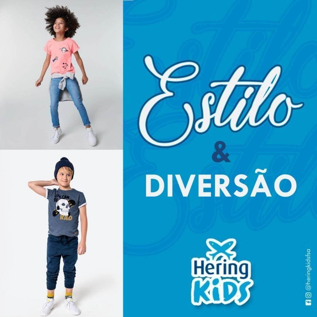 Estilo e Diversão com Hering Kids!