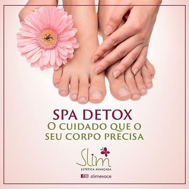 Vem desfrutar  dos tratamentos  que seus pés precisam  na Slim!