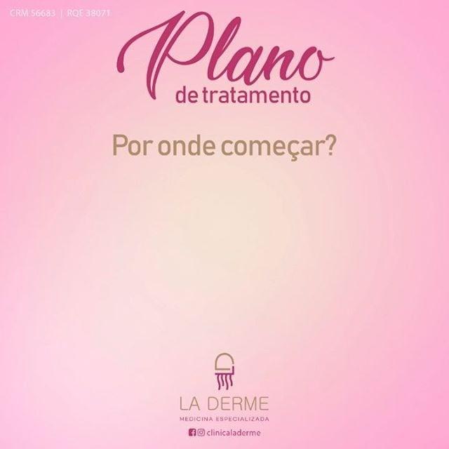 Agende sua consulta  com La Derme e descubra o MELHOR plano de tratamento pra você!