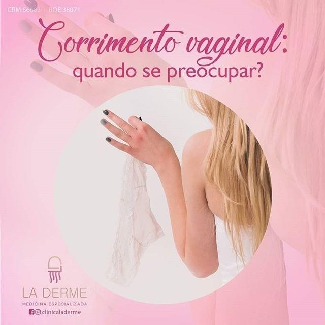 Corrimento vaginal um assunto sério para ser tratado com a nossa equipe! Clínica La Derme.