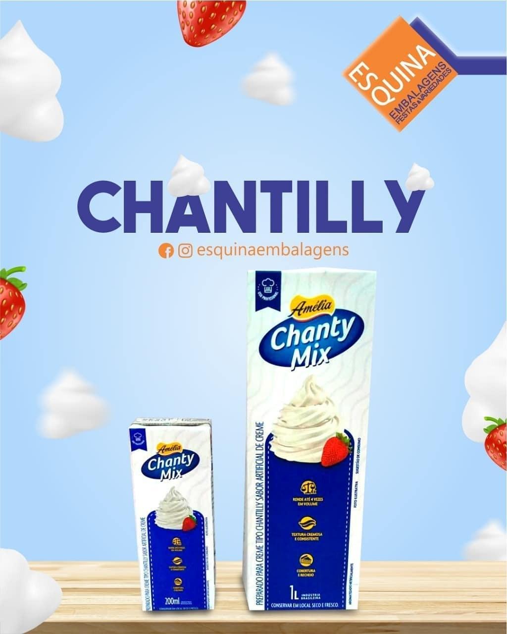 Ah, quem não ama chantilly?