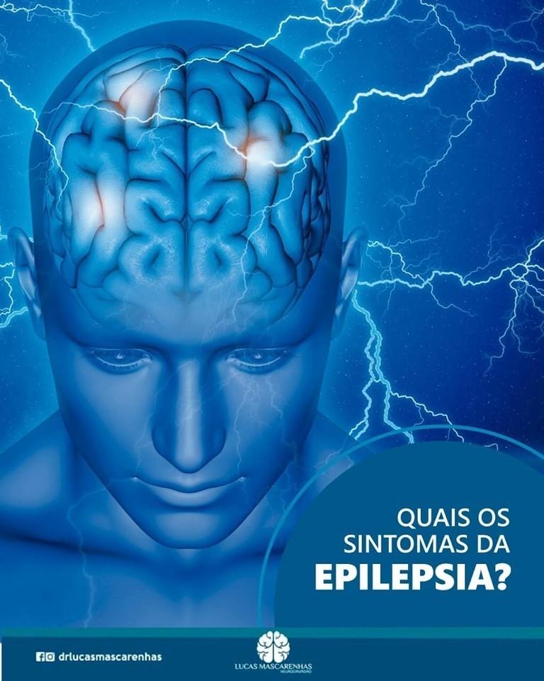 Quais os sintomas da Epilepsia?