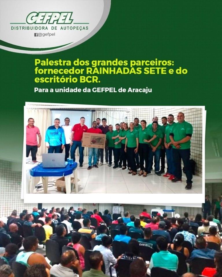 Nossa equipe da nossa loja em Aracaju!