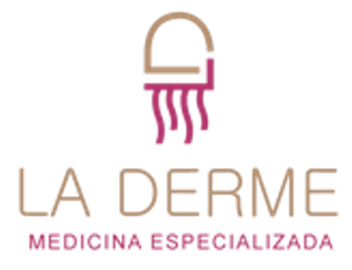 logomarca de Clínica La Derme
