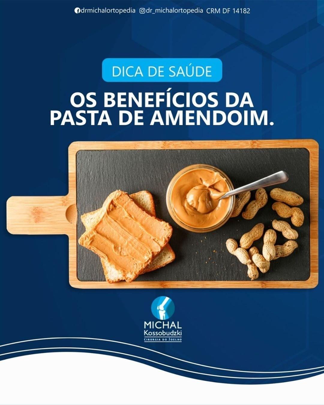 Beneficios da pasta  de amendoim!