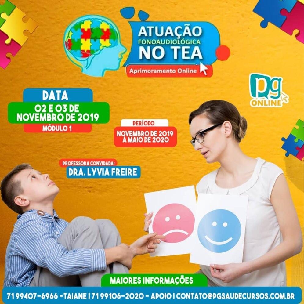 ATUAÇÃO FONOAUDIOLÓGIGA NO TEA.