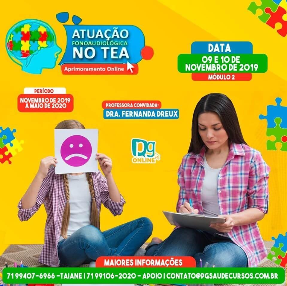 ATUAÇÃO FONOAUDIOLÓGIGA NO TEA