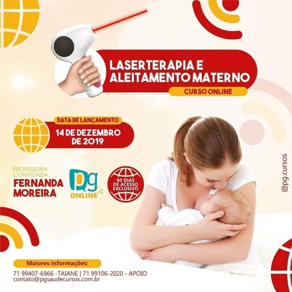 LASERTERAPIA E ALEITAMENTO MATERNO - CURSO ONLINE