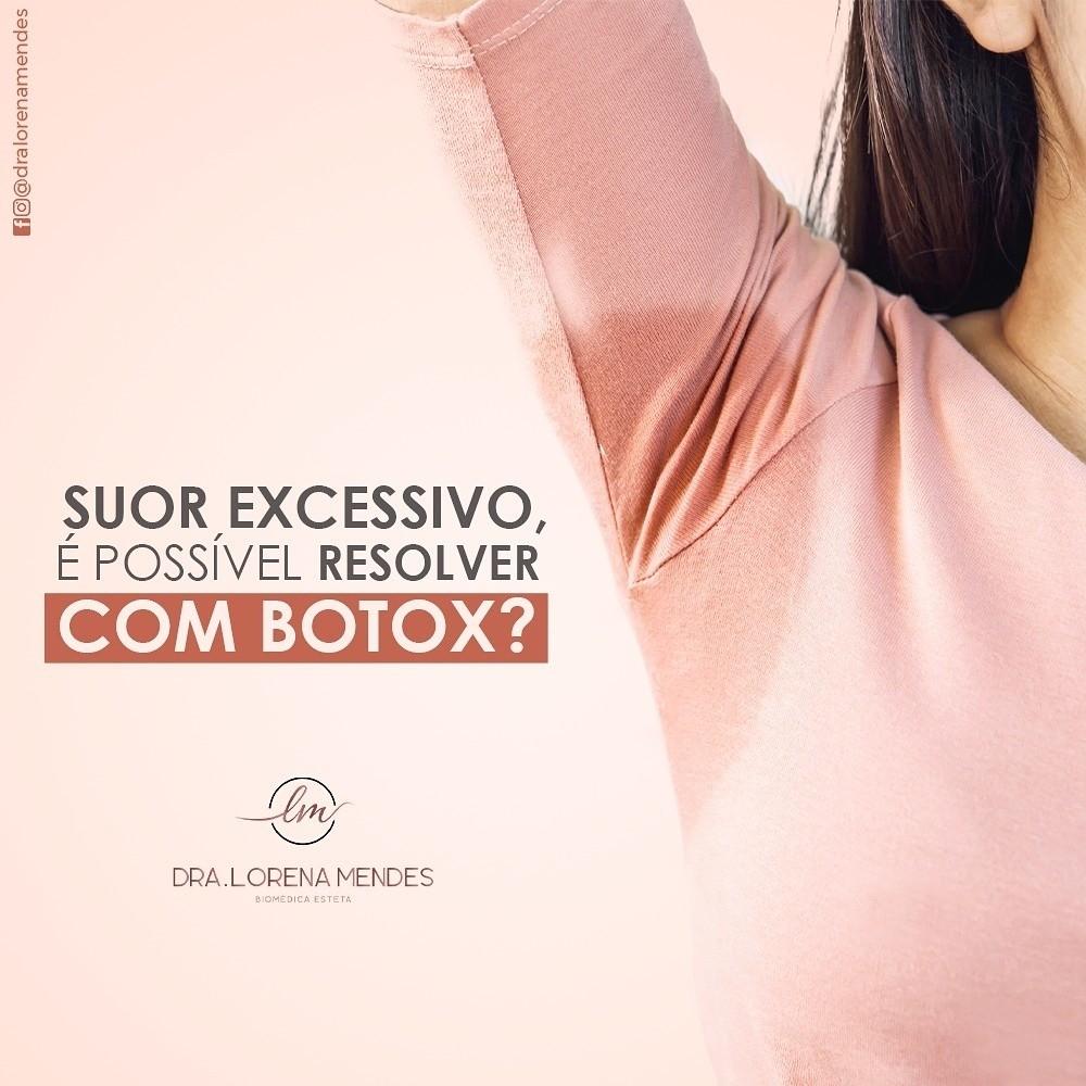 Botox,resolve o problema de suor excessivo nas axilas!