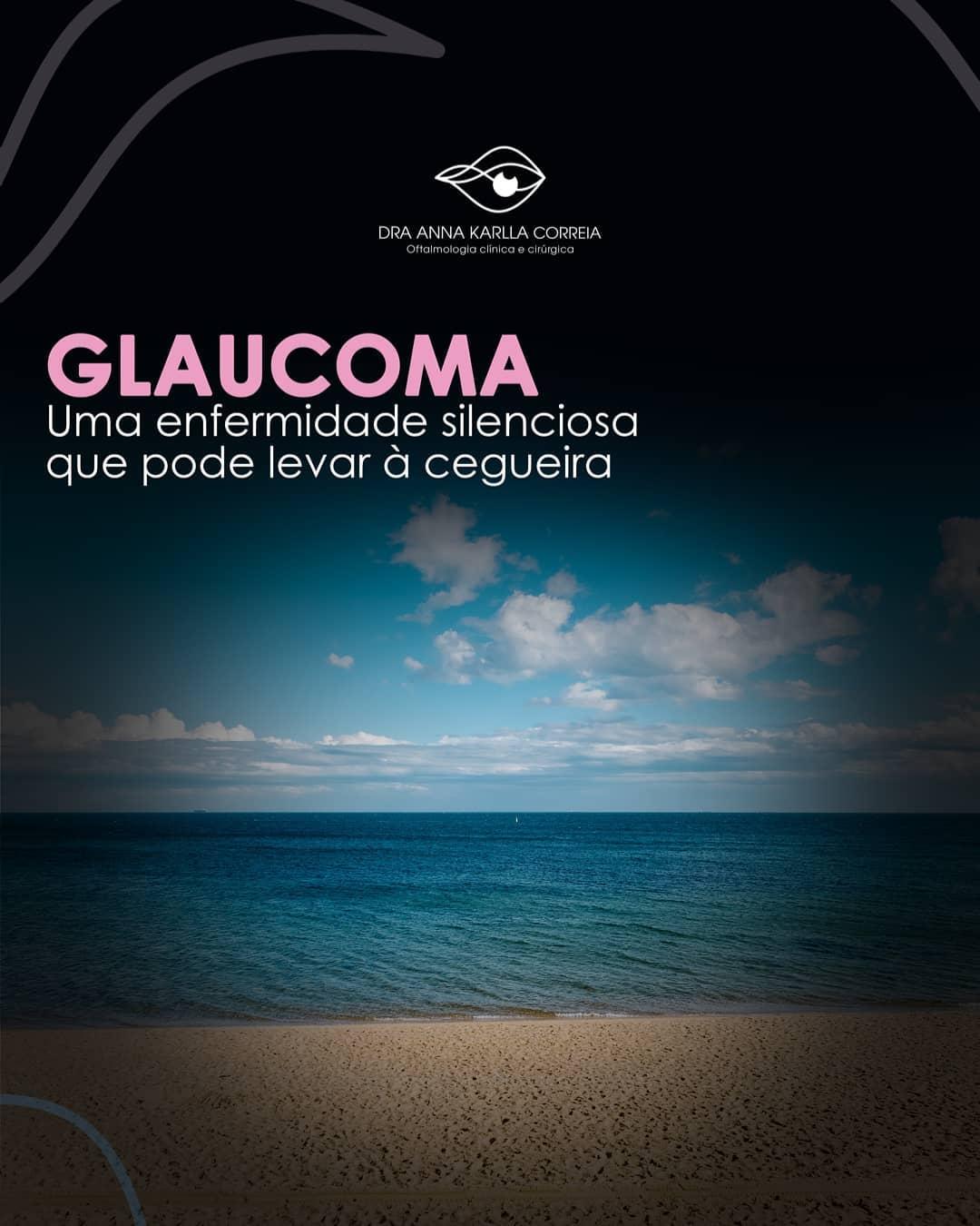 Cuidado glaucoma pode levar a cegueira!