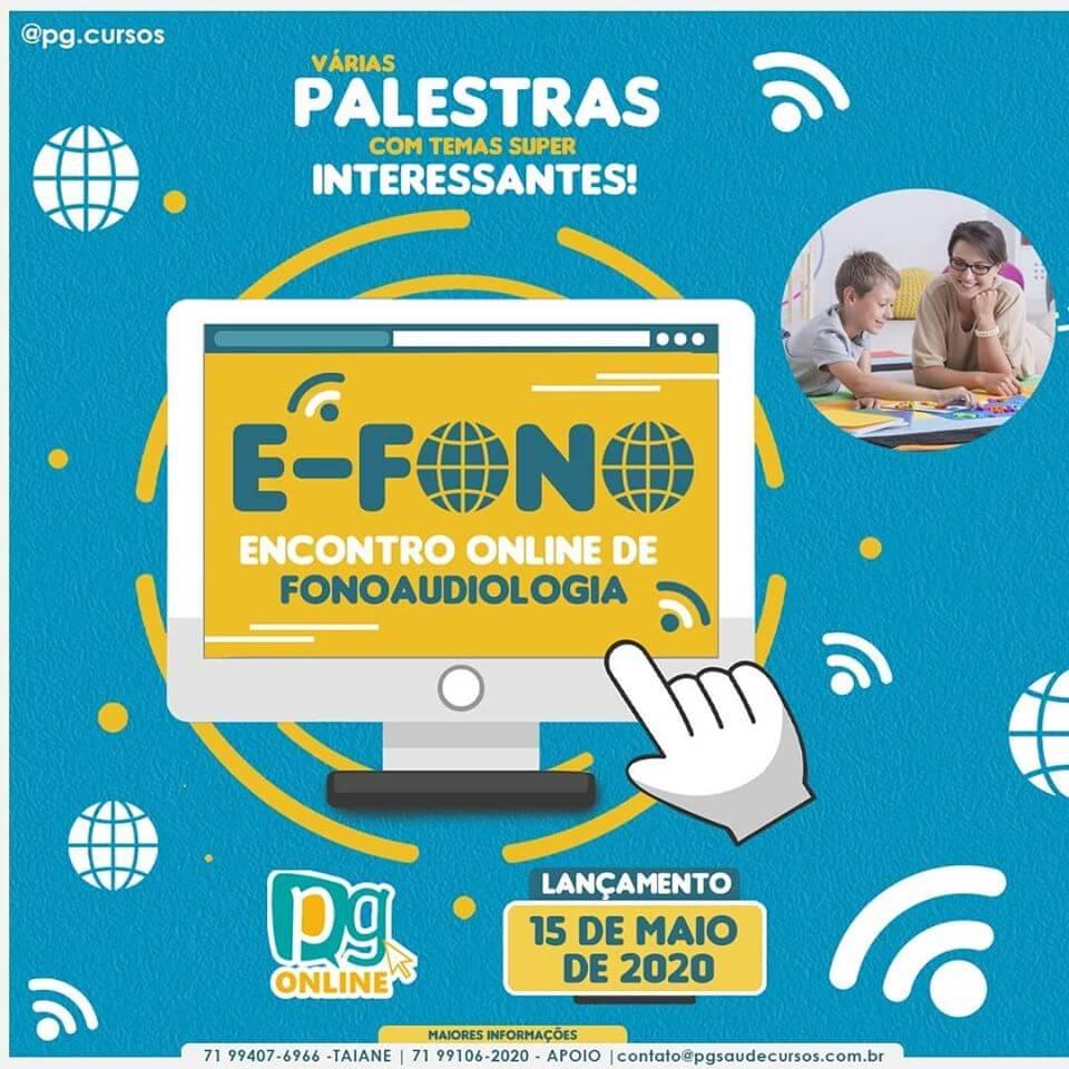 E-FONO: ENCONTRO ONLINE DE FONOAUDIOLOGIA