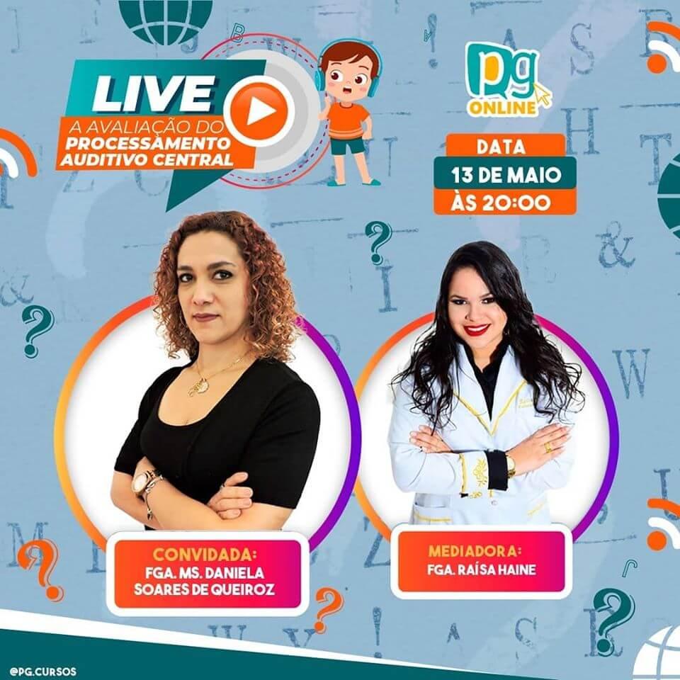 LIVE: A AVALIAÇÃO DO PROCESSAMENTO AUDITIVO CENTRAL!