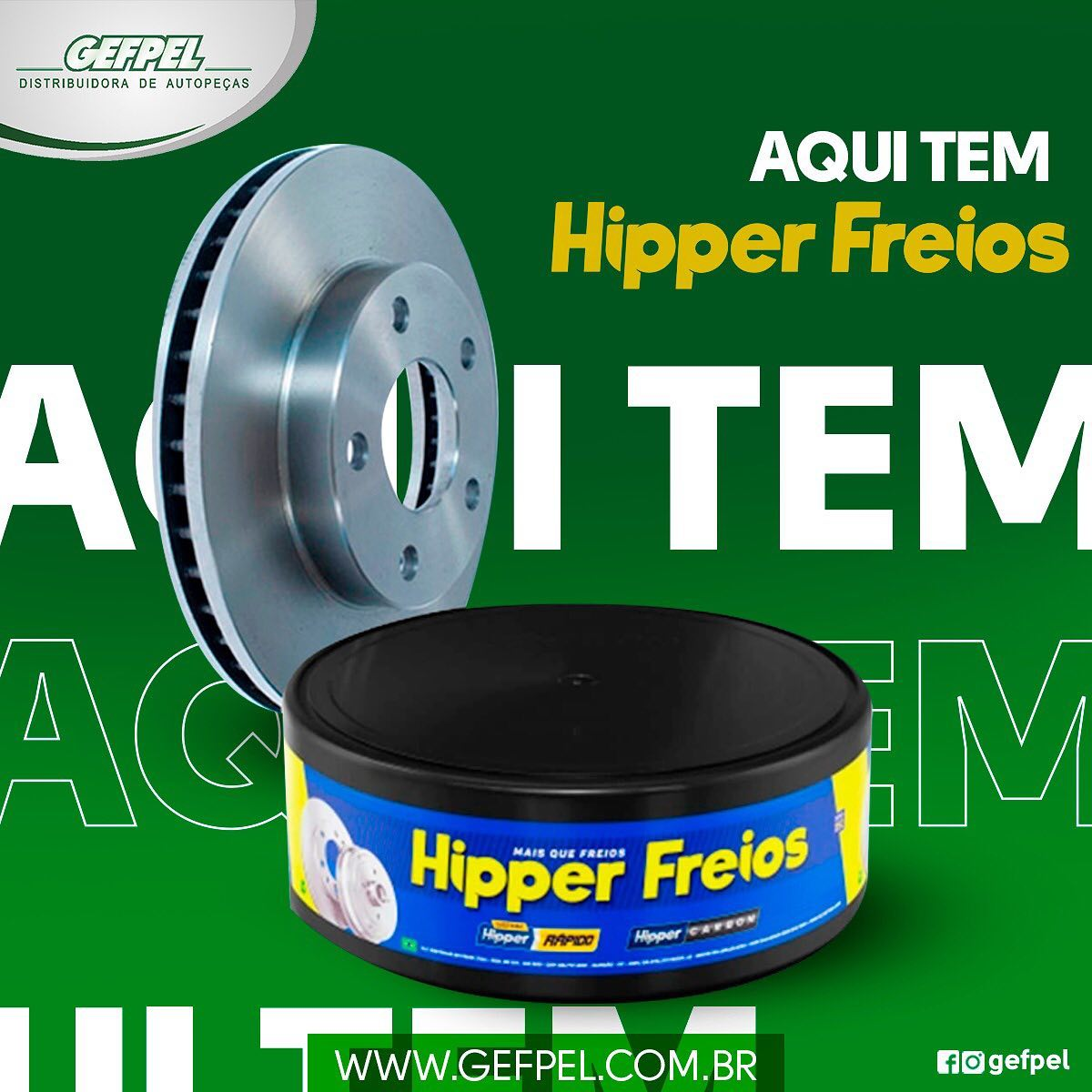 Conheça os produtos HiperFreios em uma unidade Gefpel! .
