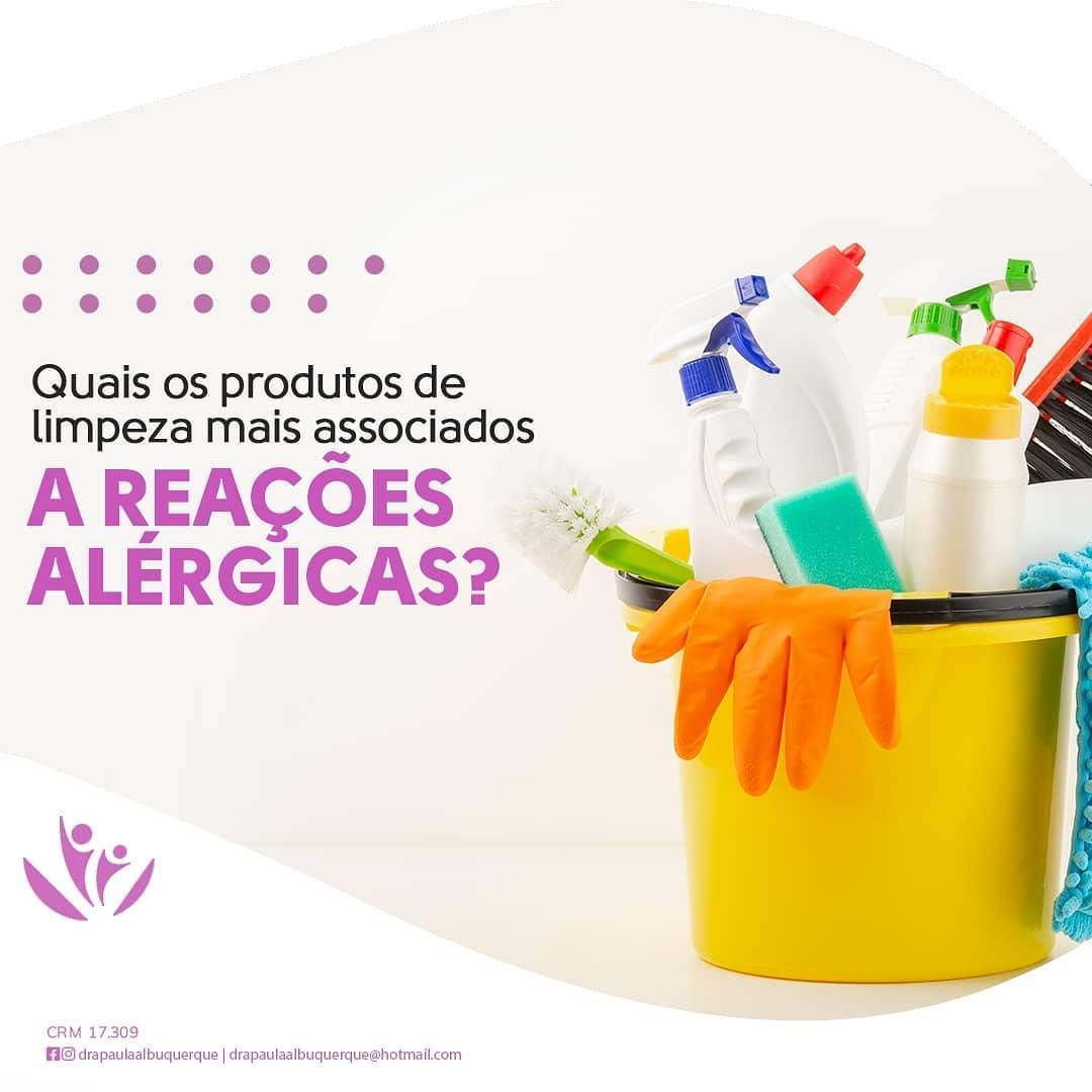Os produtos mais associados a alergia
