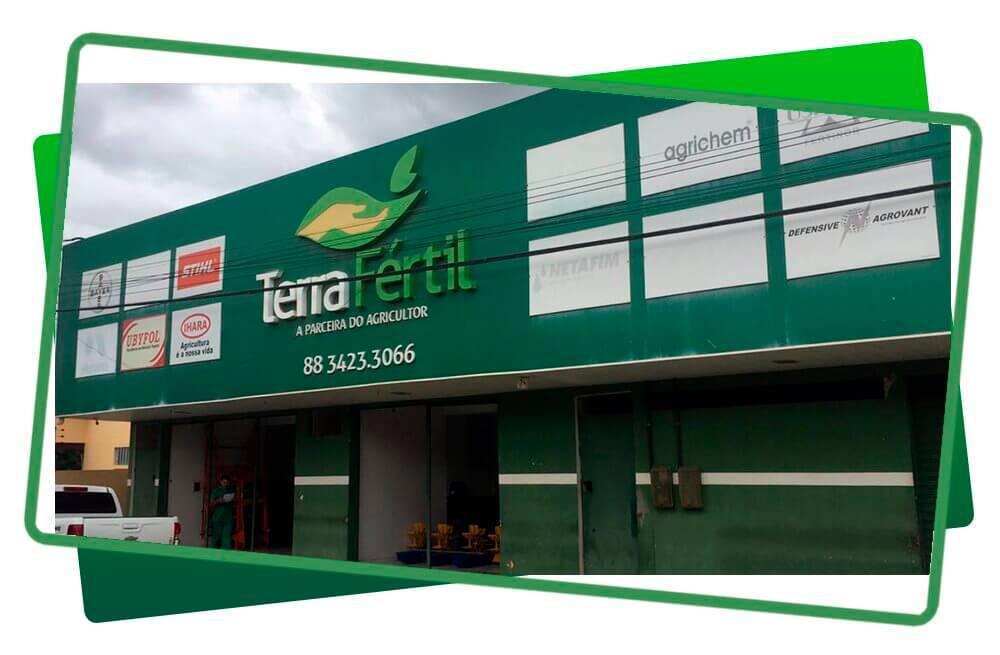 Foto da frente da loja Terra Fértil