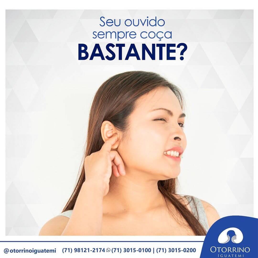 Seu ouvido coça bastante?